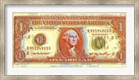 Framed Dollar Bill