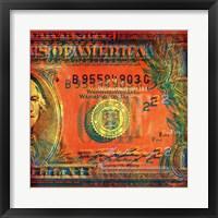 One Buck II Framed Print
