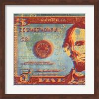 Framed Five Bucks I
