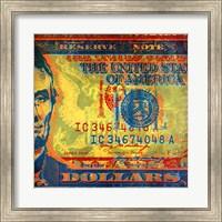 Framed Five Bucks II