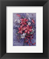 Fresh Picked Lilies Framed Print