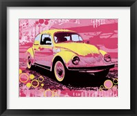 Framed Vintage Beetle