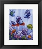 Framed Rainbow Fish V
