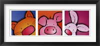 Framed Animal Friends I