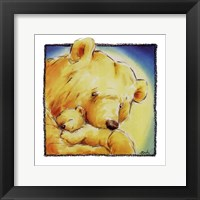 Framed Mother Bear's Love IV