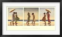 Framed Summer Days Triptych