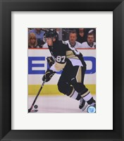 Framed Sidney Crosby 2009-10 Action
