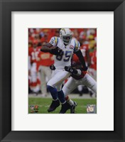 Framed Antonio Gates 2009 Action