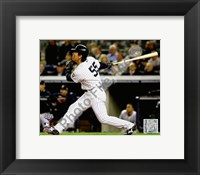 Framed Hideki Matsui Game 2 of the 2009 World Series Home Run (#7)