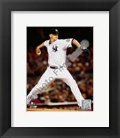 Framed A.J. Burnett Game 2 of the 2009 World Series Action (#5)
