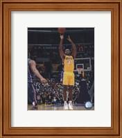 Framed Ron Artest 2009-10 Action