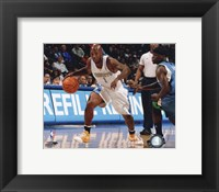 Framed Chauncey Billups 2009-10 Action