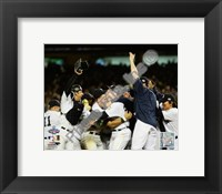 Framed New York Yankees Team Celebration Game Six of the 2009 MLB World Series (#39)