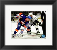 Framed John Tavares & Sidney Crosby 2009-10 Action