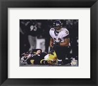 Framed Ray Lewis Spotlight Collection