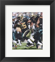 Framed Reggie Bush 2009 Action
