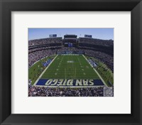 Framed Qualcomm Stadium 2009