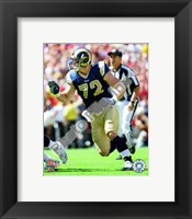 Framed Chris Long 2009 Action