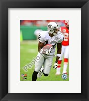Framed Darrius Heyward-Bey 2009 Action In Play