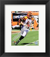 Framed Carson Palmer 2009 Running Action