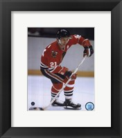 Framed Stan Mikita Action
