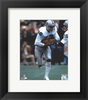 Framed Marcus Allen Action