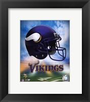 Framed 2009 Minnesota Vikings Team Logo