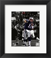 Framed Tom Brady 2009 Spotlight Collection