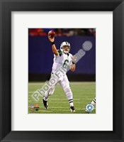 Framed Mark Sanchez 2009 Action