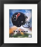 Framed 2009 Houston Texans Team Logo