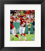 Framed Matt Cassel 2009 Action