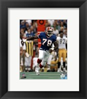 Framed Bruce Smith Action