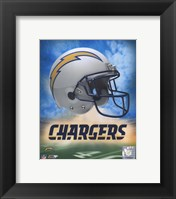 Framed 2009 San Diego Chargers logo
