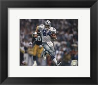 Framed Jay Novacek action
