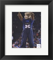 Framed University of Kentucky Wildcats Mascot