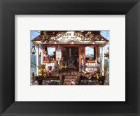 Framed Bentley Bear's Bait Shop