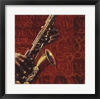Framed Jazz I