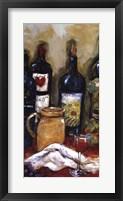 Wine Tasting Panel I Framed Print