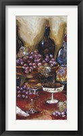 Framed Wine Tasting Panel II