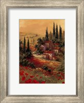 Framed Toscano Valley I