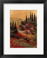 Toscano Valley II Framed Print