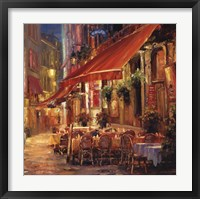 Framed Cafe in Light