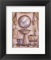 Framed Charming Bath IV
