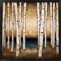 Framed Birch Landing