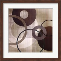 Framed Abstract & Natural Elements I