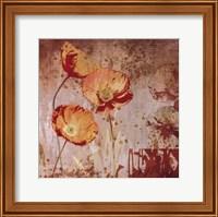 Framed Small Floral Prints 1