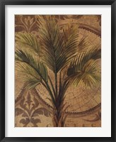Decorative Palm II Framed Print