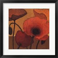 Poppy Curry I Framed Print