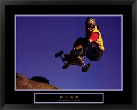 Framed Risk- Mountain Boarder