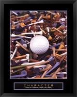 Framed Character - Golf Tees